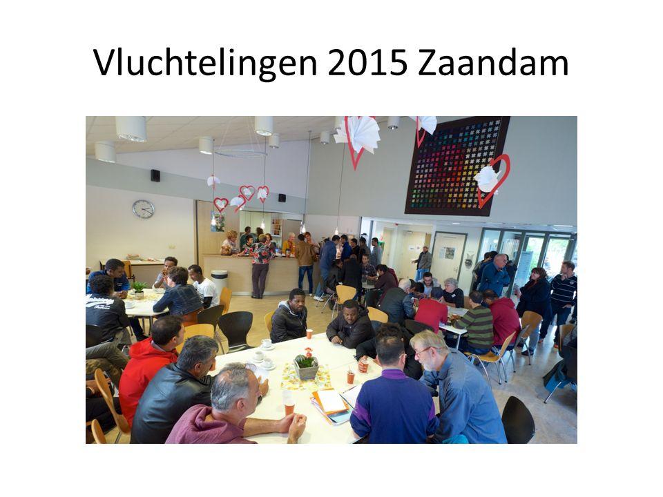 Vluchtelingen 2015 Zaandam