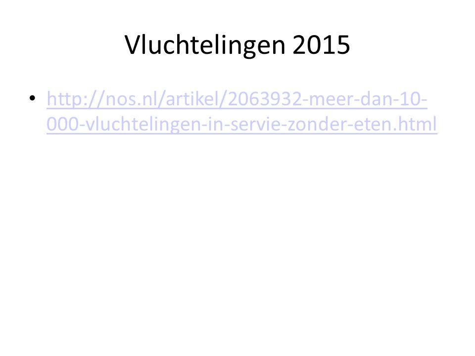 http://nos.nl/artikel/2063932-meer-dan-10- 000-vluchtelingen-in-servie-zonder-eten.html http://nos.nl/artikel/2063932-meer-dan-10- 000-vluchtelingen-i