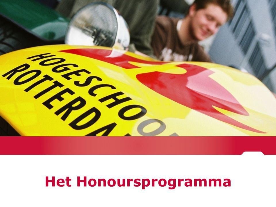 Het Honoursprogramma