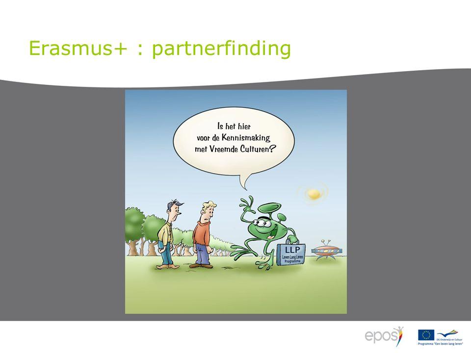 Erasmus+ : partnerfinding