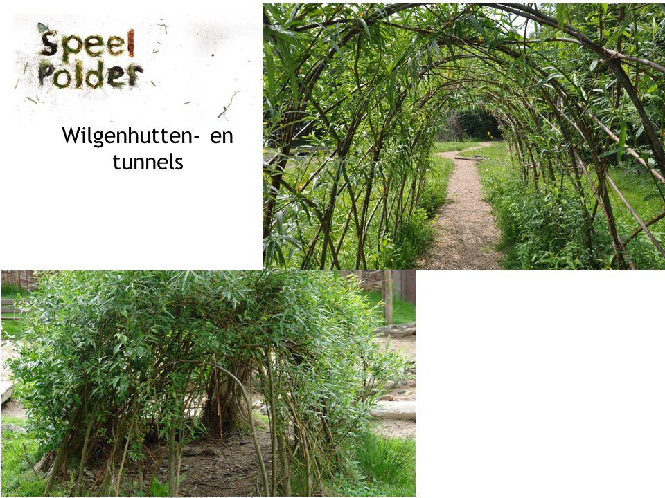 Wilgenhutten- en tunnels