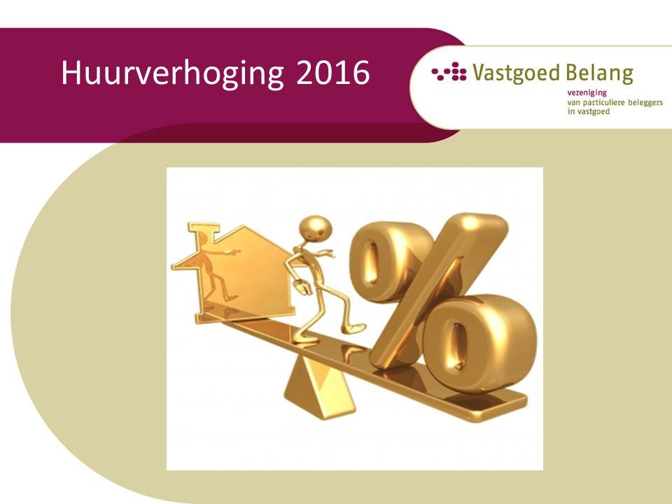 Huurverhoging 2016
