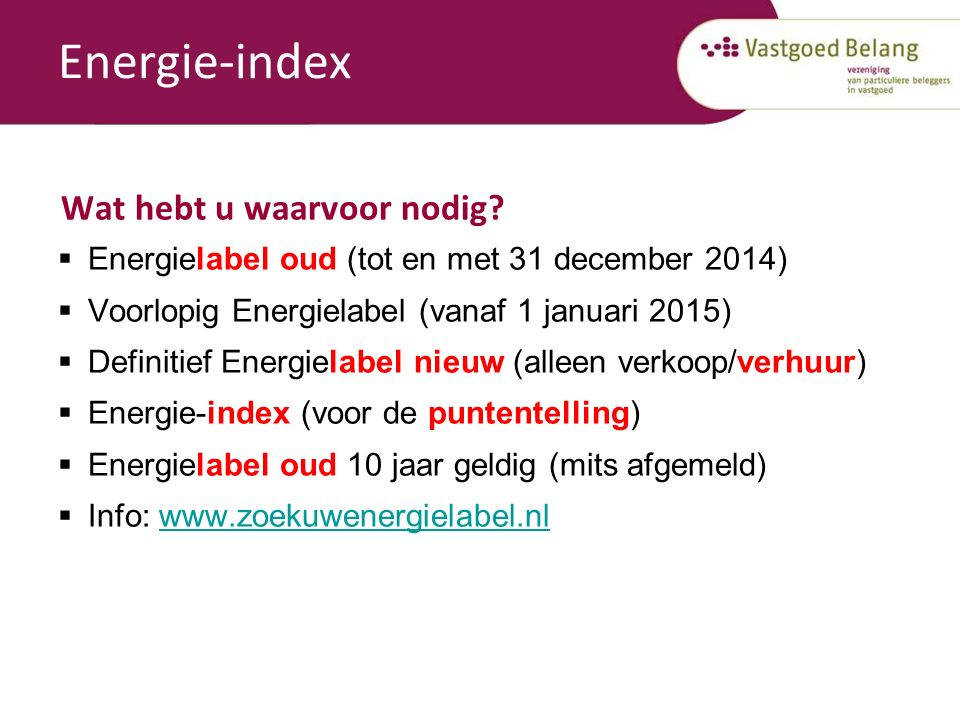 www.vastgoedbelang.nl Website