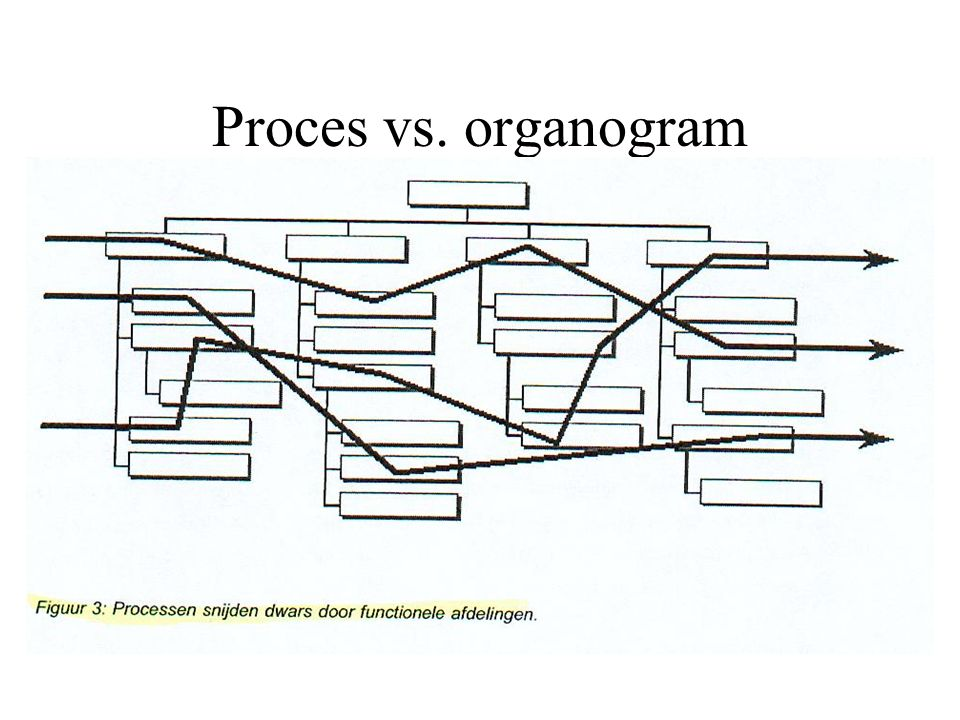 Proces vs. organogram