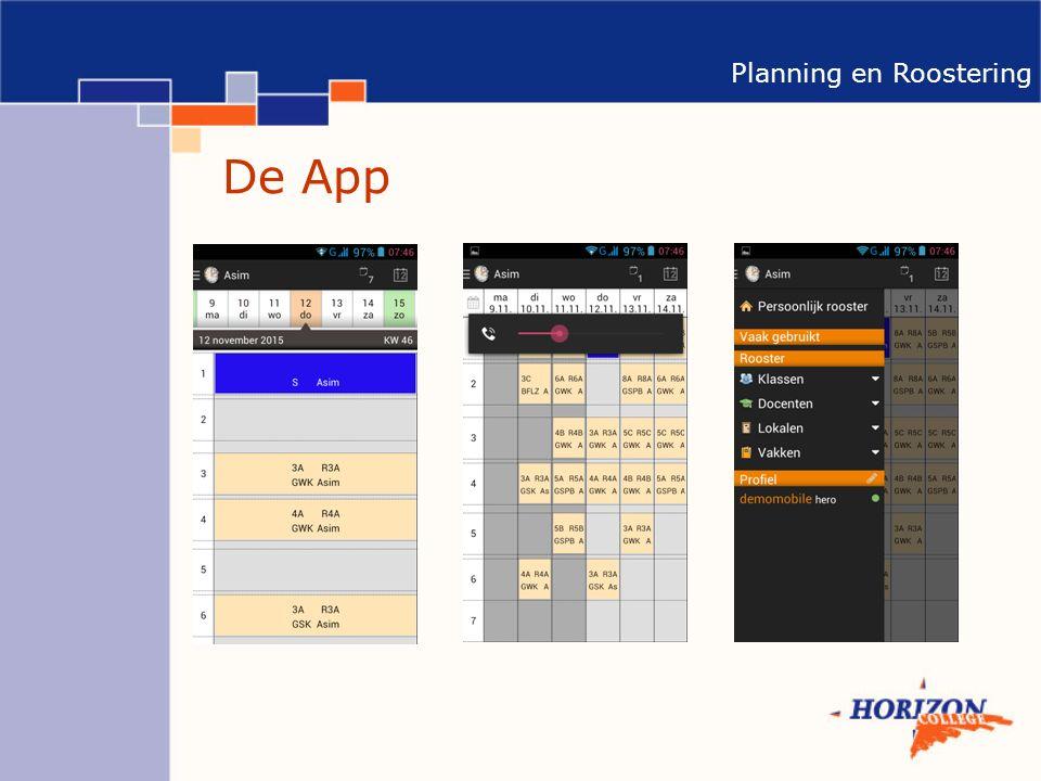 Planning en Roostering De App