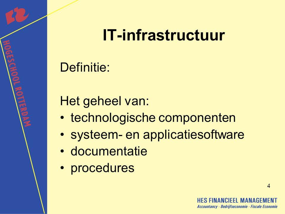 45 Doel Capaciteitsbeheer Het zorgdragen voor een optimale inzet van IT- middelen ten behoeve van de met de opdrachtgever overeengekomen prestaties.