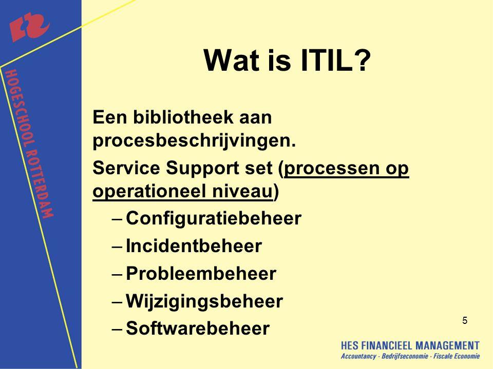 6 Wat is ITIL.