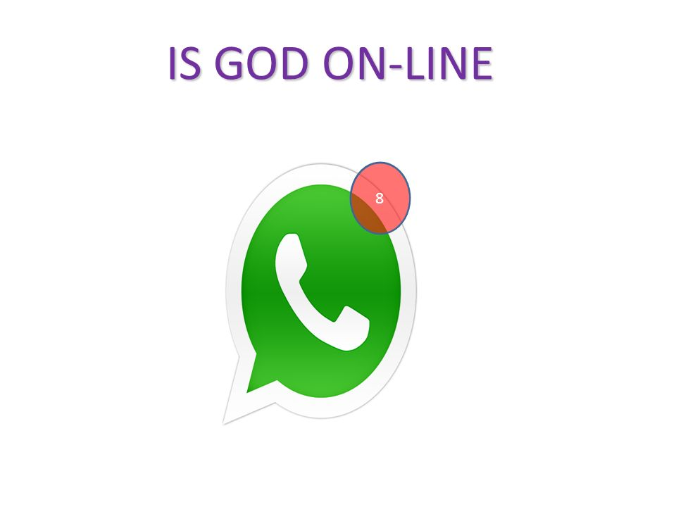 IS GOD ON-LINE 8