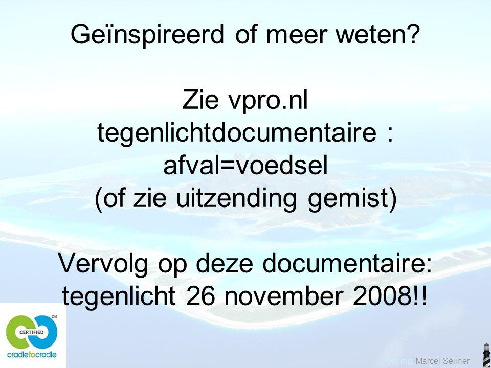Drs ing. Marcel Seijner Geïnspireerd of meer weten.