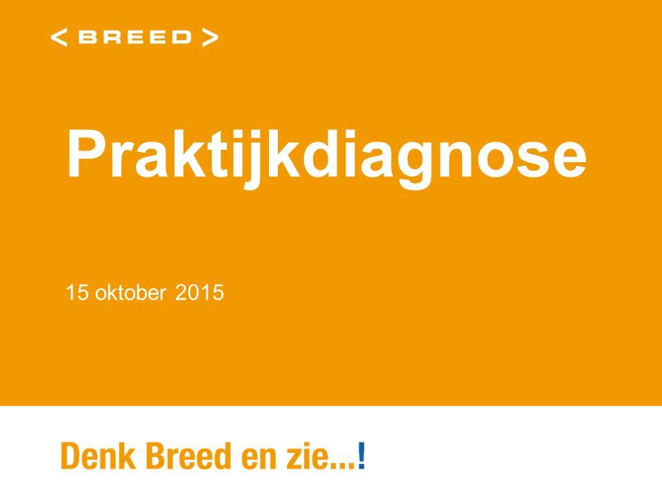 Praktijkdiagnose 15 oktober 2015