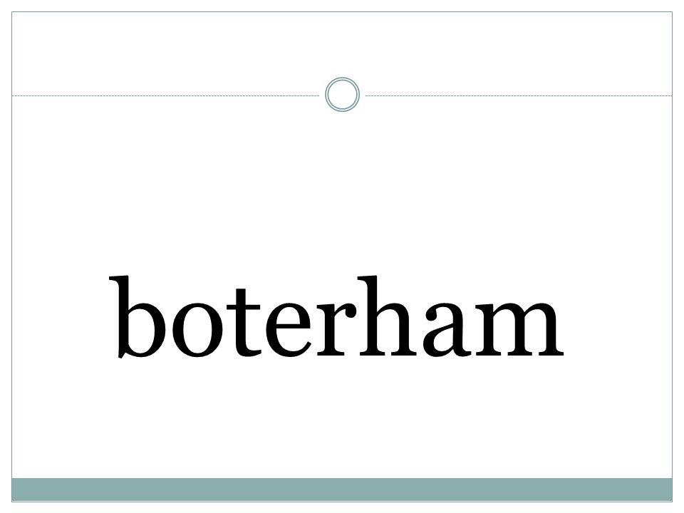 boterham
