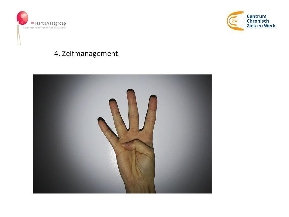 4. Zelfmanagement.