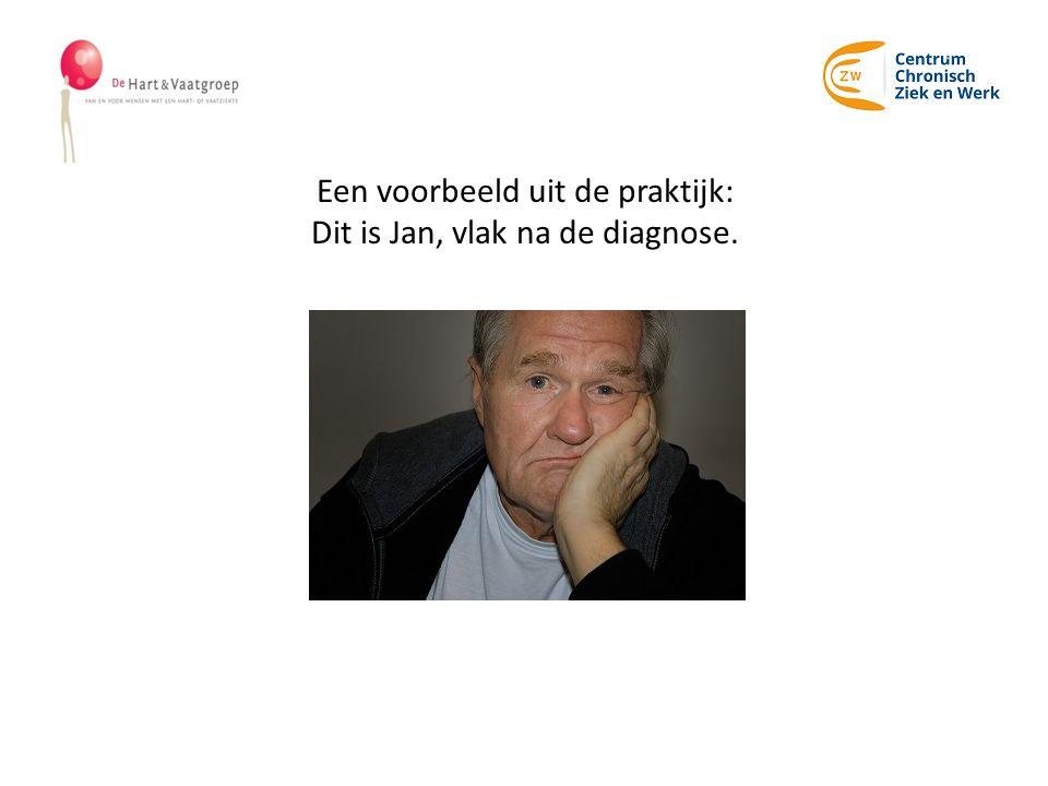 Een voorbeeld uit de praktijk: Dit is Jan, vlak na de diagnose.