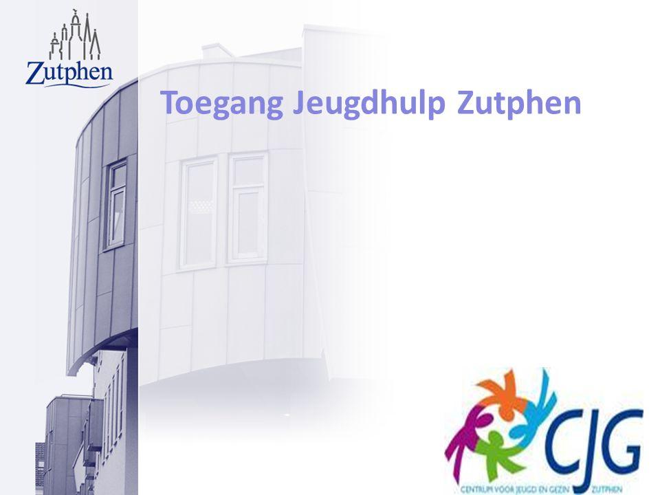 Toegang Jeugdhulp Zutphen