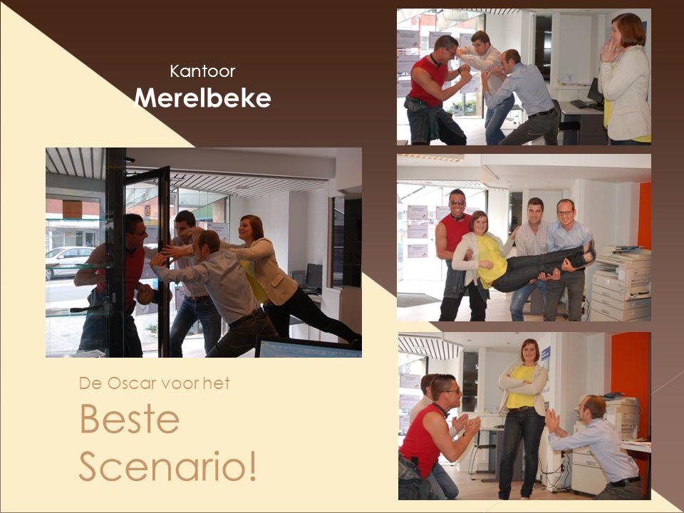 De Oscar voor het Beste Scenario! Kantoor Merelbeke