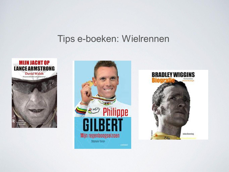 Tips e-boeken: Wielrennen