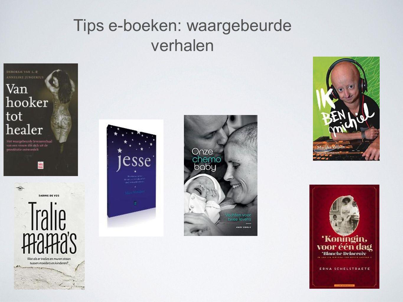 Tips e-boeken: waargebeurde verhalen