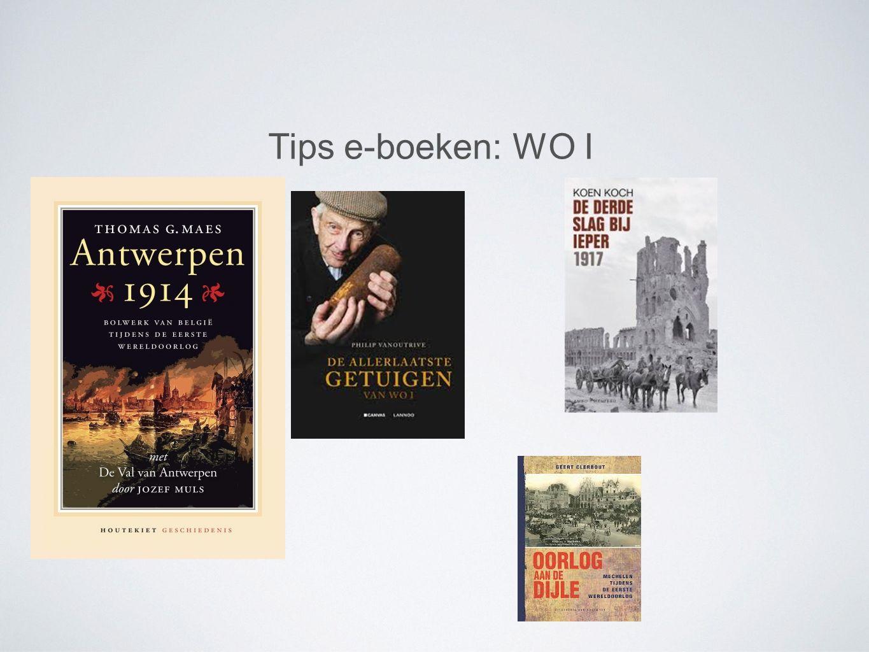 Tips e-boeken: WO II