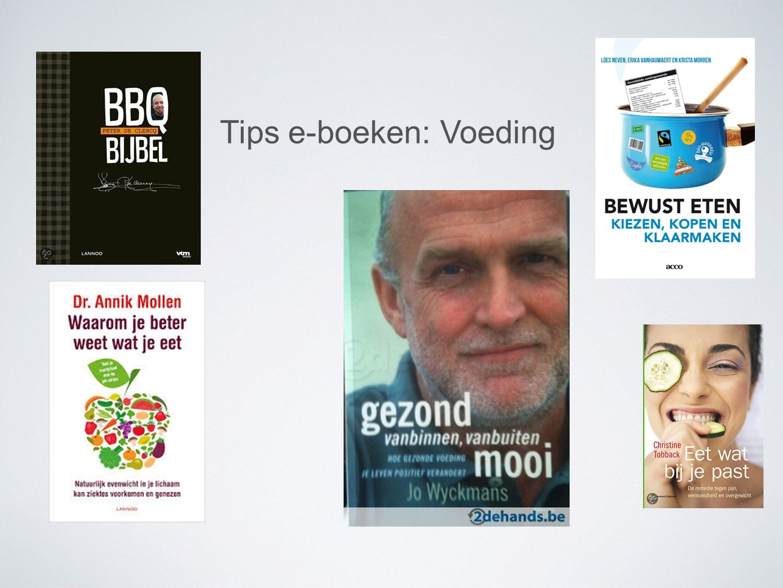 Tips e-boeken: Voeding