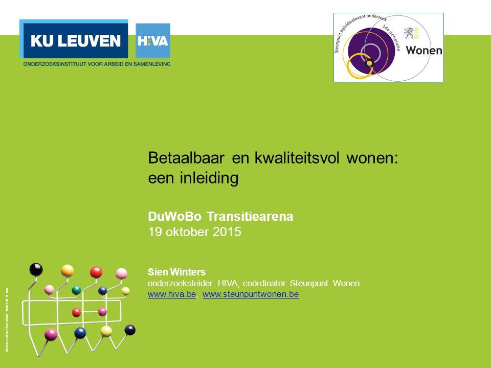 Kwaliteit 12 Aanwezigheid van dakisolatie (bijna of overal aanwezig), in %, Vlaanderen, 2005 en 2013 Bron: Ceulemans & Verbeeck (2015) op basis van GWO2013 en WS2005