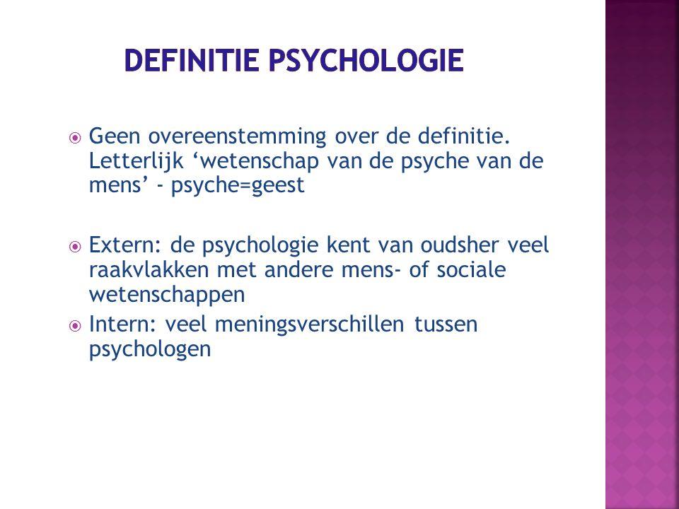 Wat weet je al van deze stromingen.1. Biologische psychologie 2.