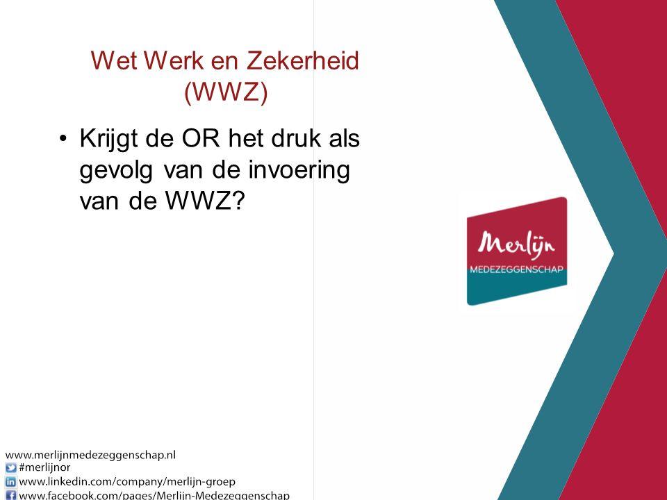 Wet Werk en Zekerheid (WWZ) Krijgt de OR het druk als gevolg van de invoering van de WWZ