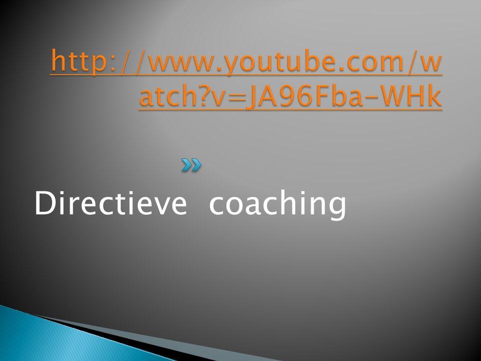 Directieve coaching