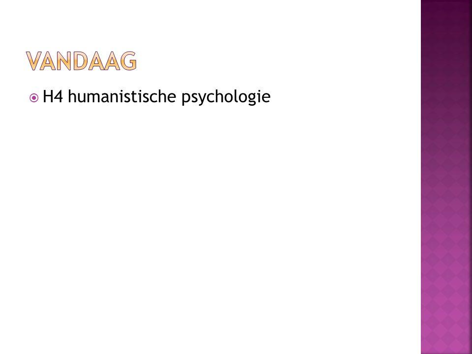  H4 humanistische psychologie