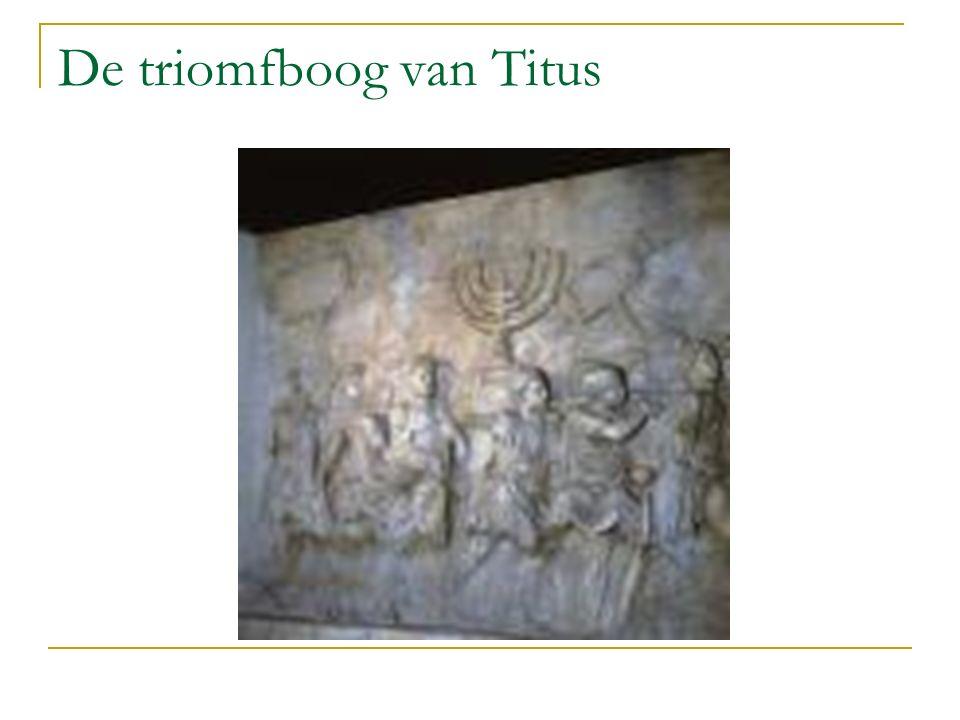 De triomfboog van Titus