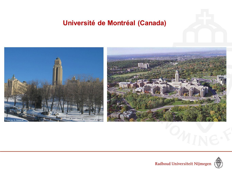 Université de Montréal (Canada)