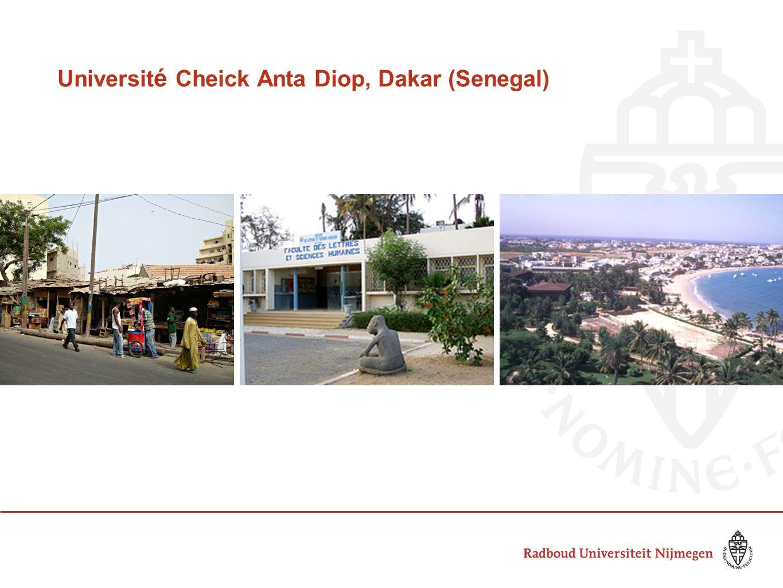 Universit é Cheick Anta Diop, Dakar (Senegal)