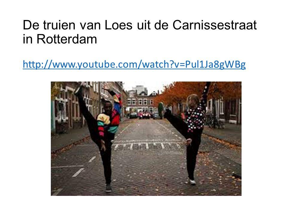De truien van Loes uit de Carnissestraat in Rotterdam http://www.youtube.com/watch v=Pul1Ja8gWBg