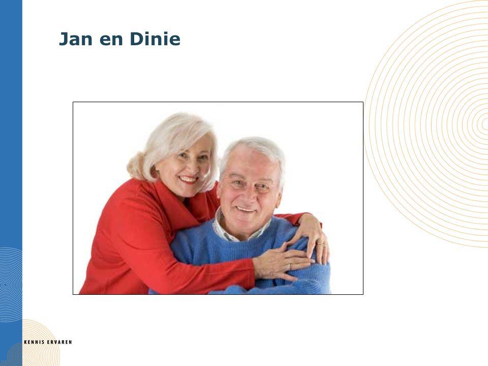 Jan en Dinie