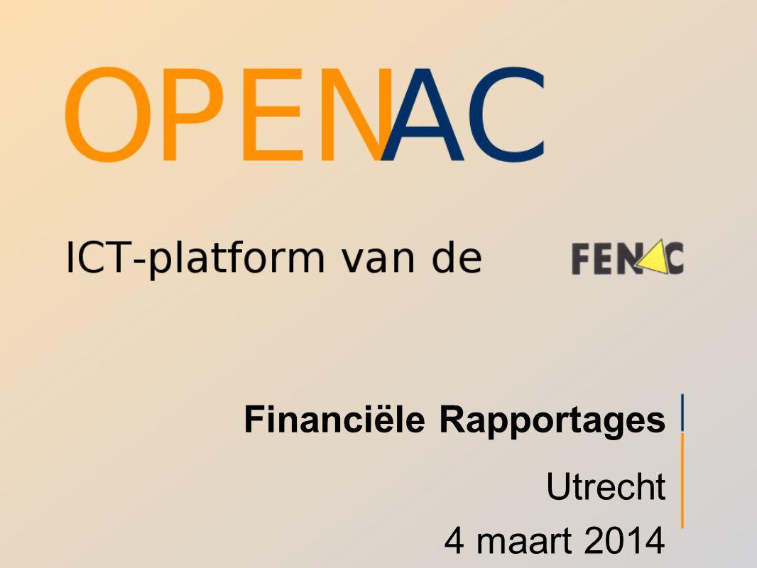 Financiële Rapportages Utrecht 4 maart 2014