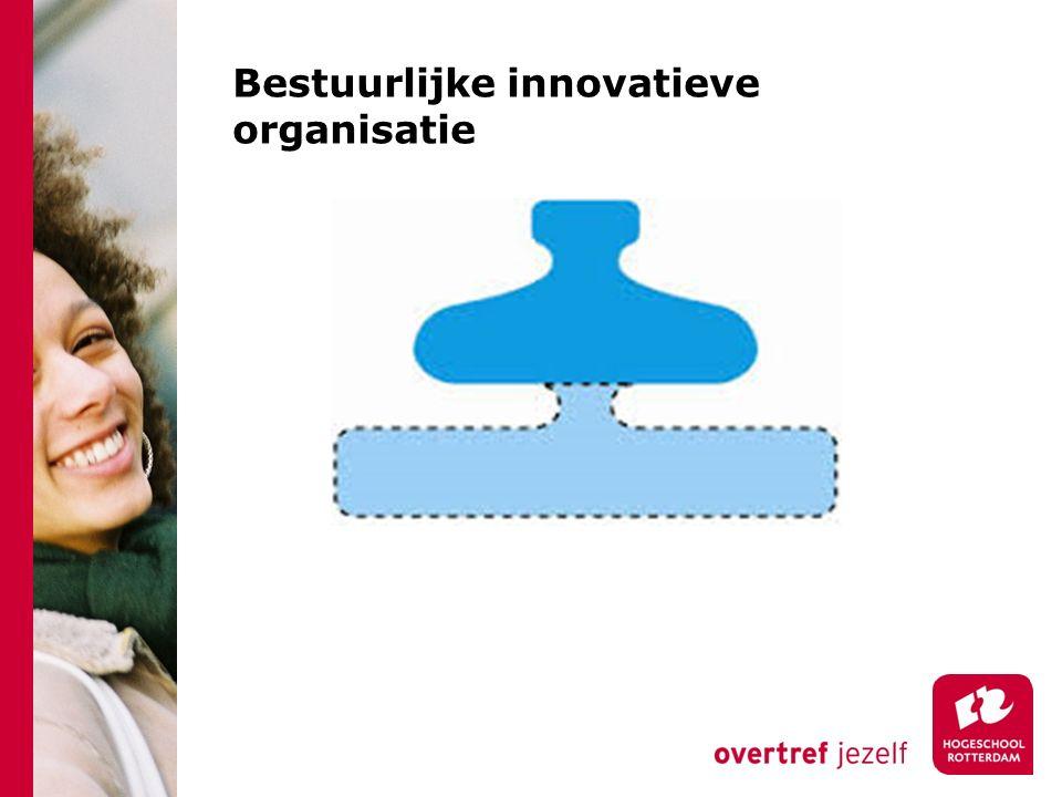 Bestuurlijke innovatieve organisatie