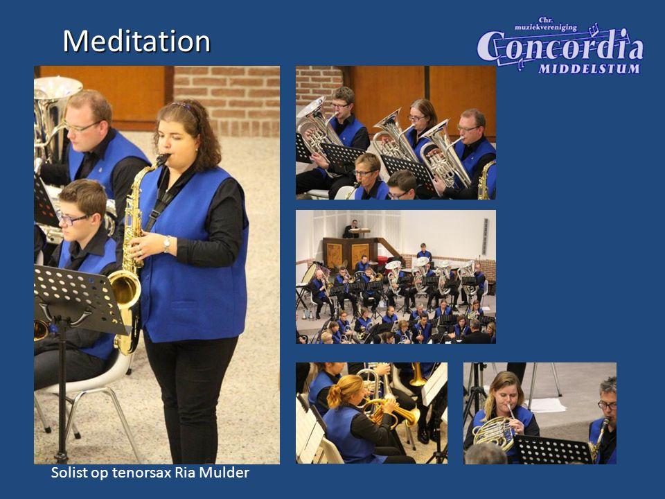Meditation Solist op tenorsax Ria Mulder