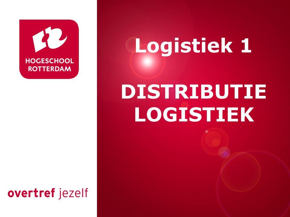 Presentatie titel Rotterdam, 00 januari 2007 Logistiek 1 DISTRIBUTIE LOGISTIEK