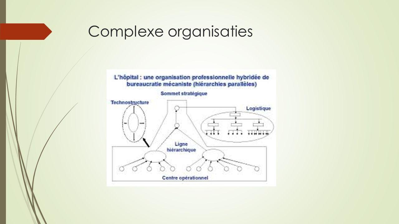 Complexe organisaties