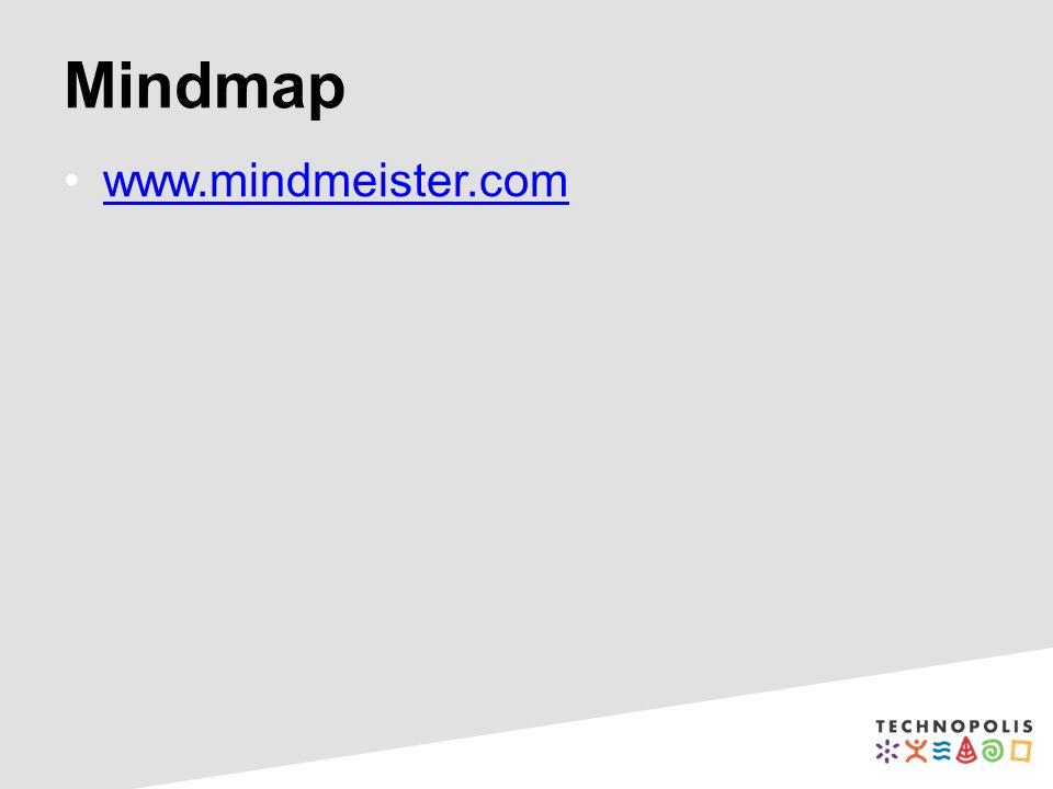 Mindmap www.mindmeister.com