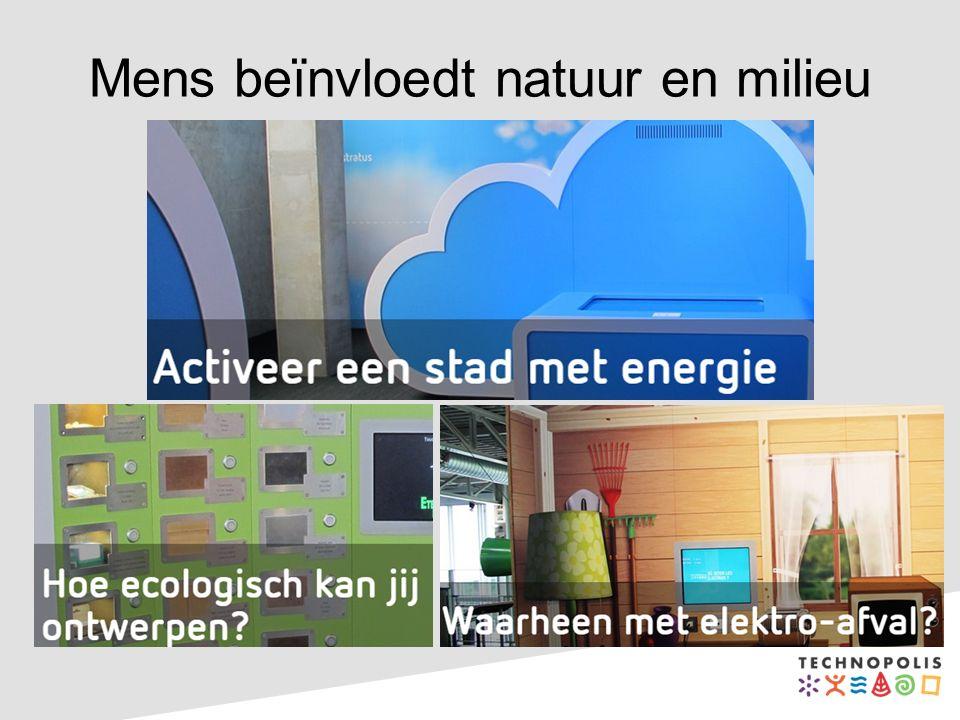 Mens beïnvloedt natuur en milieu