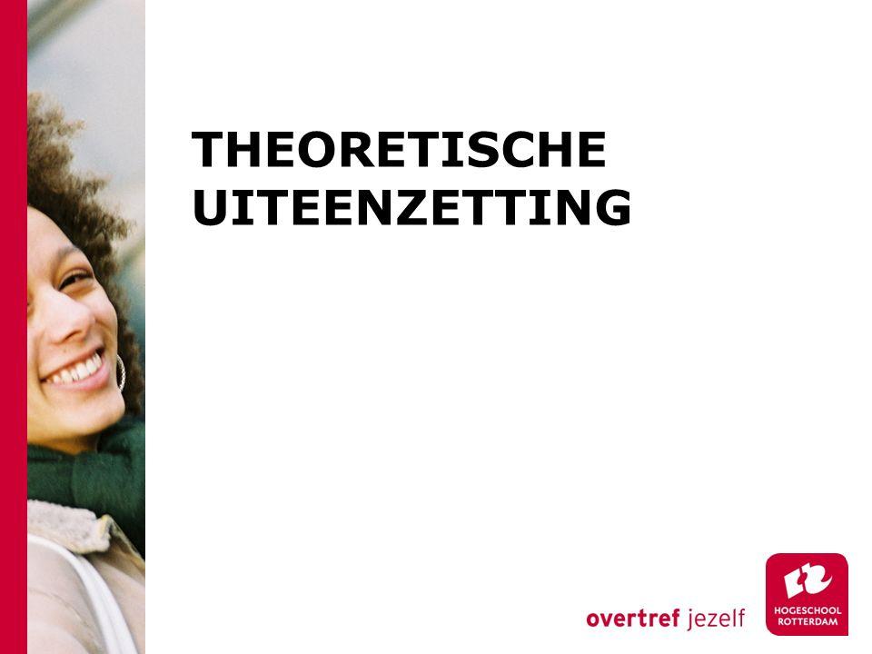 THEORETISCHE UITEENZETTING