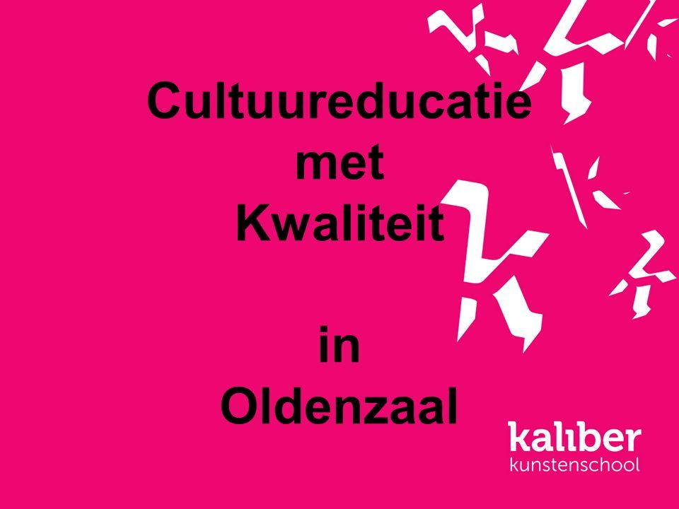 Cultuureducatie met Kwaliteit in Oldenzaal