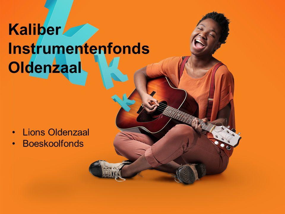 Kaliber Instrumentenfonds Oldenzaal Lions Oldenzaal Boeskoolfonds