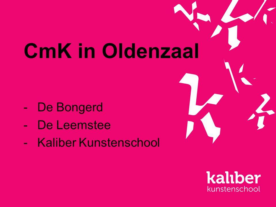 CmK in Oldenzaal -De Bongerd -De Leemstee -Kaliber Kunstenschool