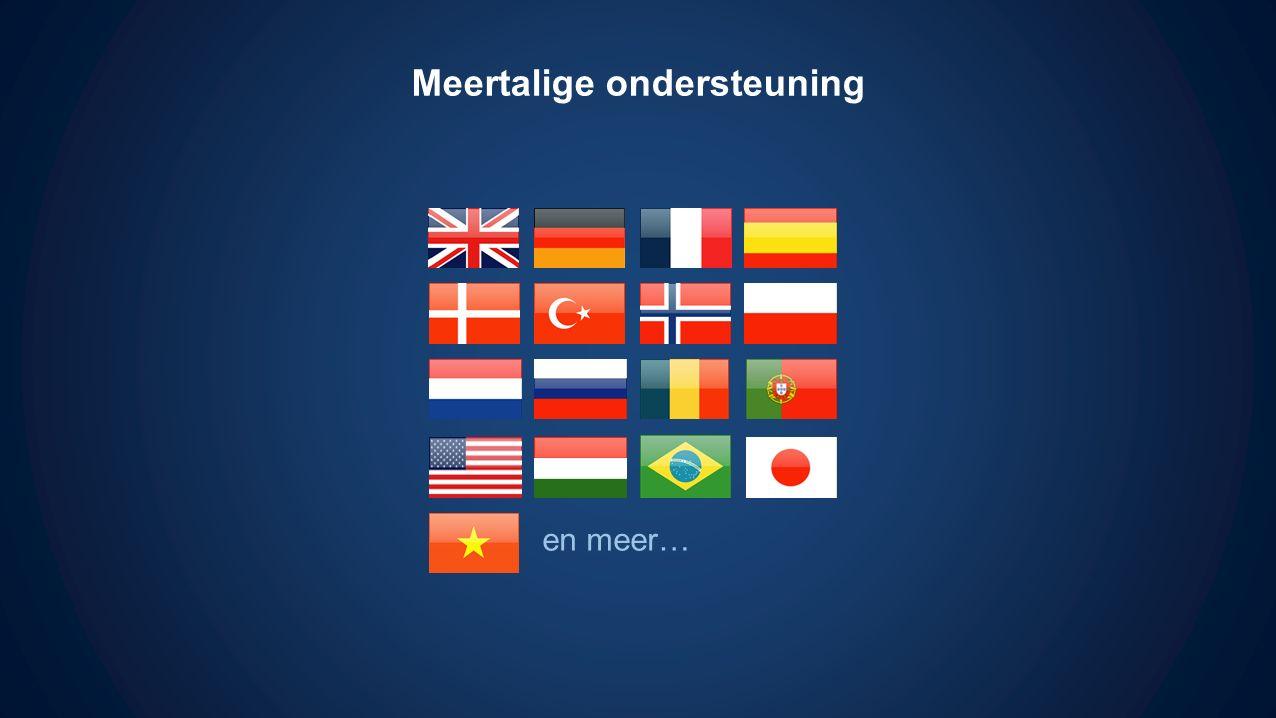Meertalige ondersteuning en meer…