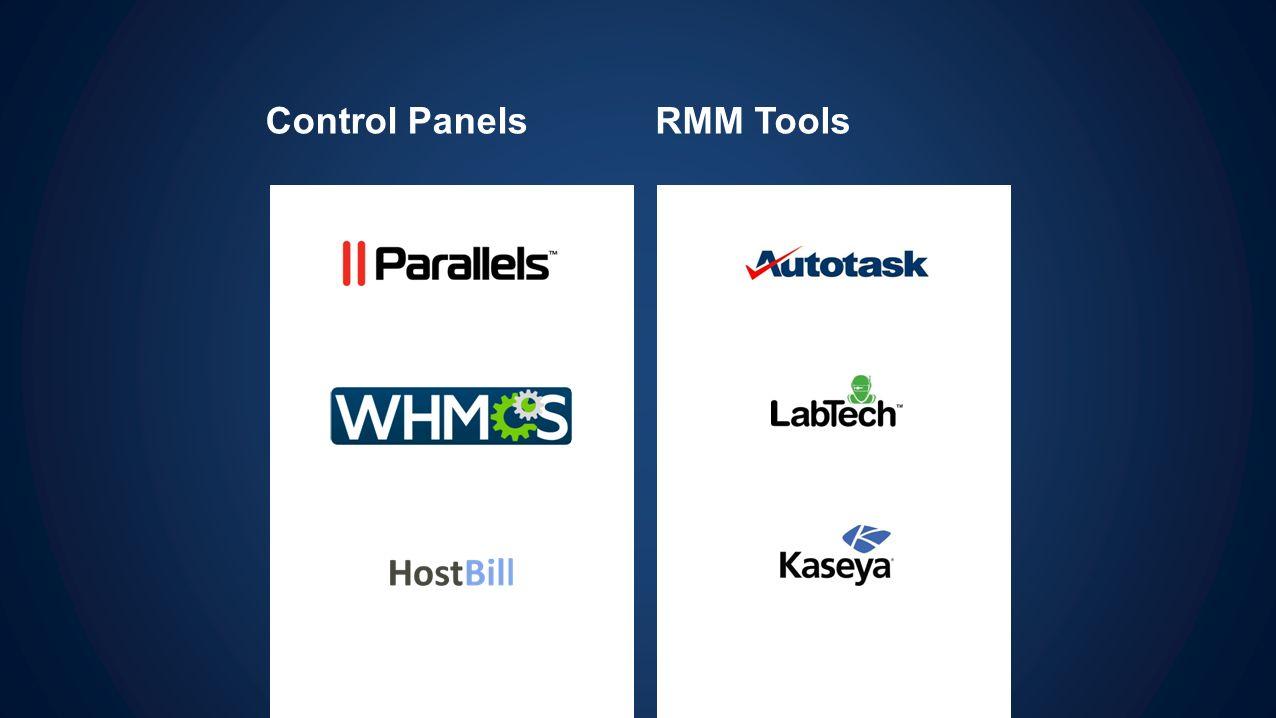 Control PanelsRMM Tools