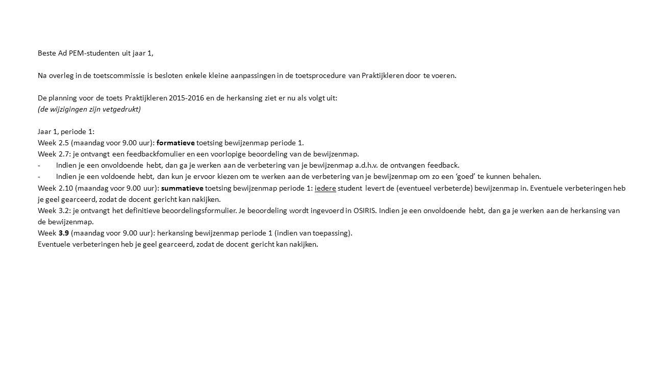 CompetentiegebiedWaardering (1 t/m 10) Feedback 1.