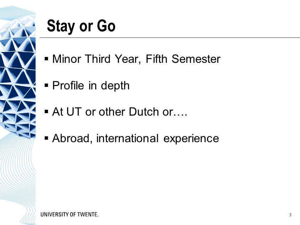 Twente Mobility Fund Met het Twente Mobility Fund (TMF) geeft de UT al haar studenten de mogelijkheid om te studeren in het buitenland.