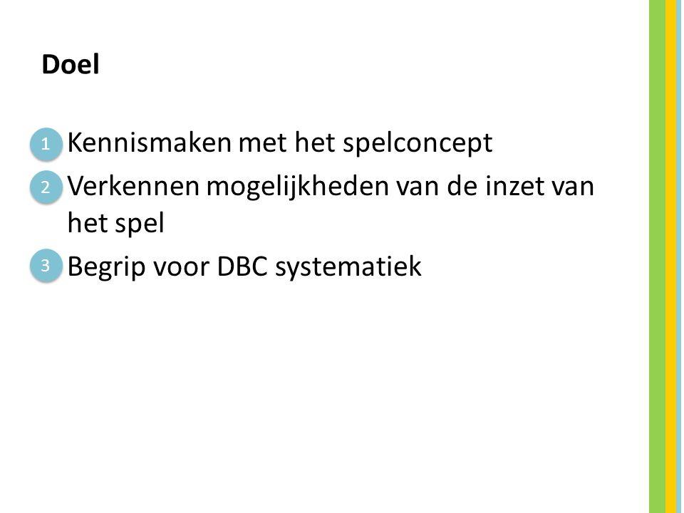2. Achtergrondinformatie DBC systematiek