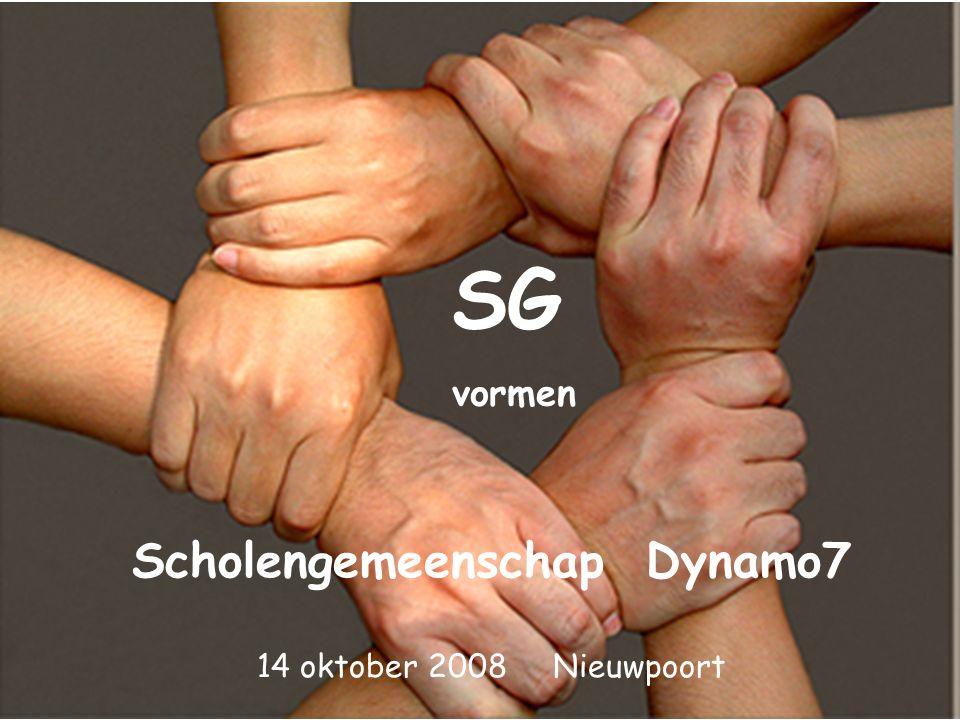 SG vormen Scholengemeenschap Dynamo7 14 oktober 2008 Nieuwpoort